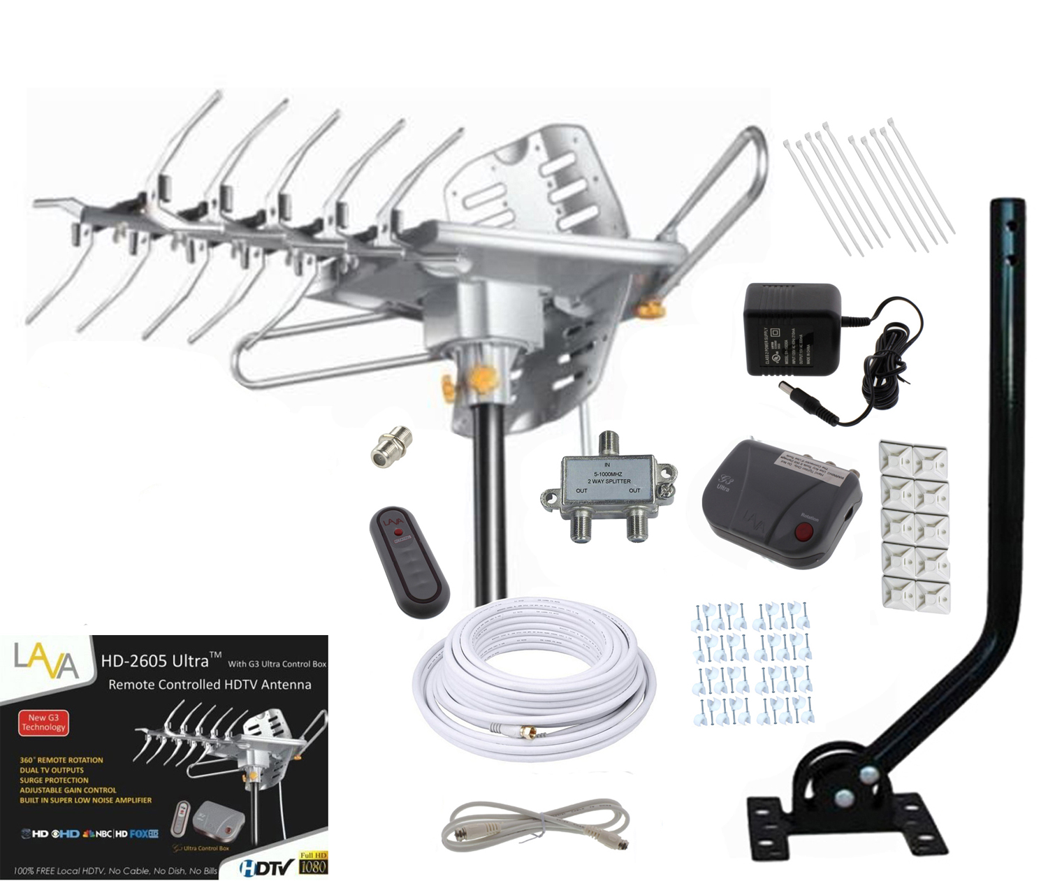 Outdoor Tv Antenna Hookup