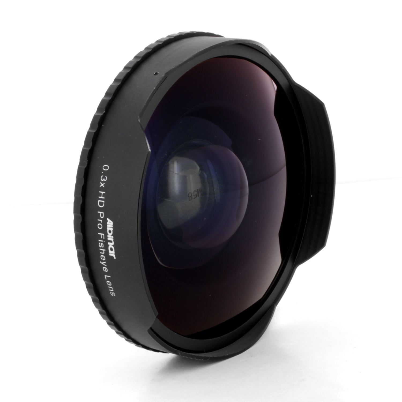 Albinar 3x hd fisheye lens for sony gr dv2000 gr dv3000 for Fish eye lens