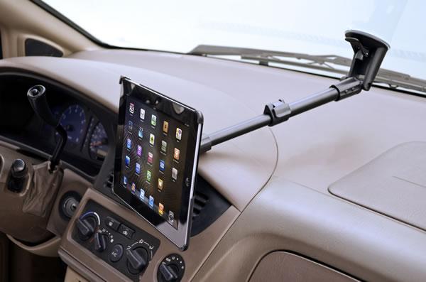 Ipad mini car window mount