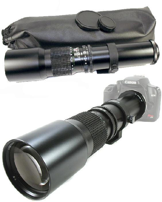 500mm  1000mm lens for canon eos digital rebel 7d 60d 60da
