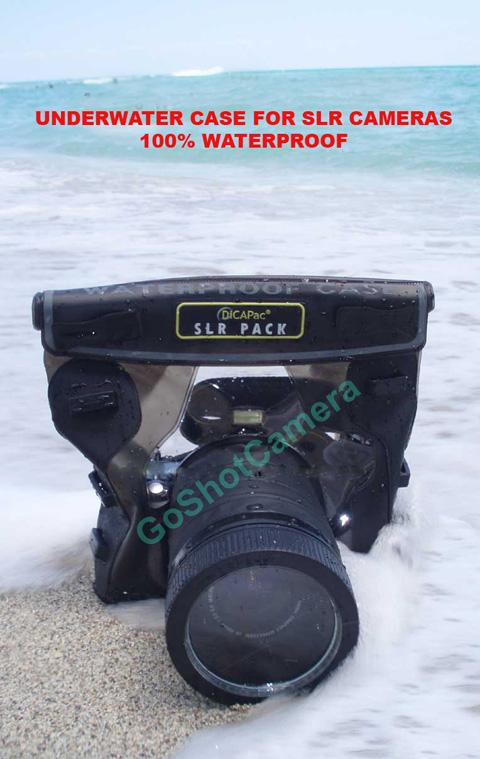 Dicapac sous l 39 eau tanche logement sacoche pour nikon for Appareil photo fujifilm s5700
