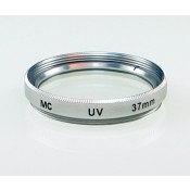 37mm Multicoated MC UV Glass Filter MCUV in Silver Color