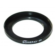 Bower Step-Up Adapter Ring 43mm Lens to 58mm Filter Size 43-58 mm
