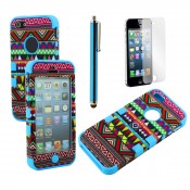 PPC032AZ-BLU-I5-SPK_~_Tribal_Blue_Case_for_iPhone5-01