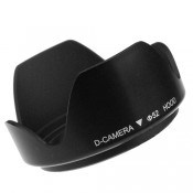 "Mennon Thumb Lock Mount ""DC-b 52"" 52mm Lens Hood, Black"