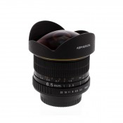 Albinar 6.5mm f/3.5 HD Fisheye Lens for Nikon F Mount DSLR/SLR Cameras