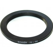 Bower Step-Down Adapter Ring 72mm Lens to 58mm Filter Size 72-58 mm