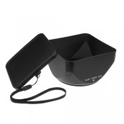 Mennon SL20 67 67mm Lens Hood for 120 SLR Cameras with Bayonet Mount, Black