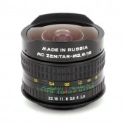 Fisheye Zenitar 2.8/16 MC Lens for Nikon Al SLR Cameras